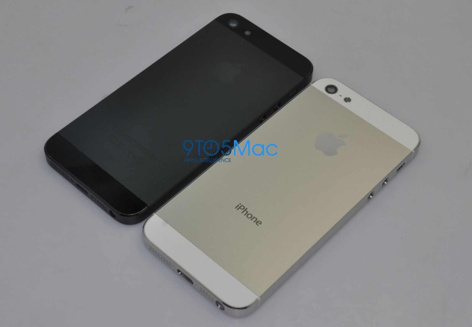 Images of the new iPhone 5 case design 