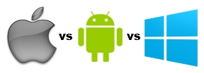 Apple vs Android vs Windows