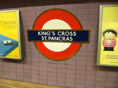 King's Cross underground