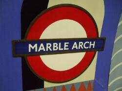 Marble Arch underground