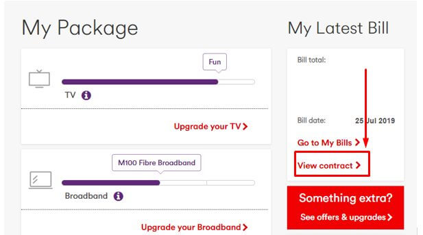 Virgin Media contract end date | When does my Virgin