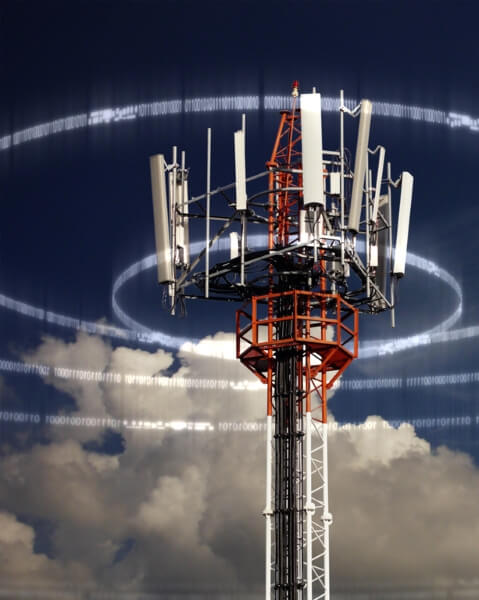 cell tower / istock - LV4260