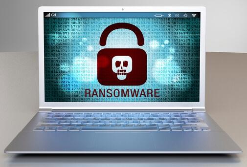 Ransomware on a laptop istock/kaptnali